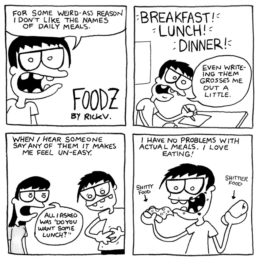 Foodz comic 1/3