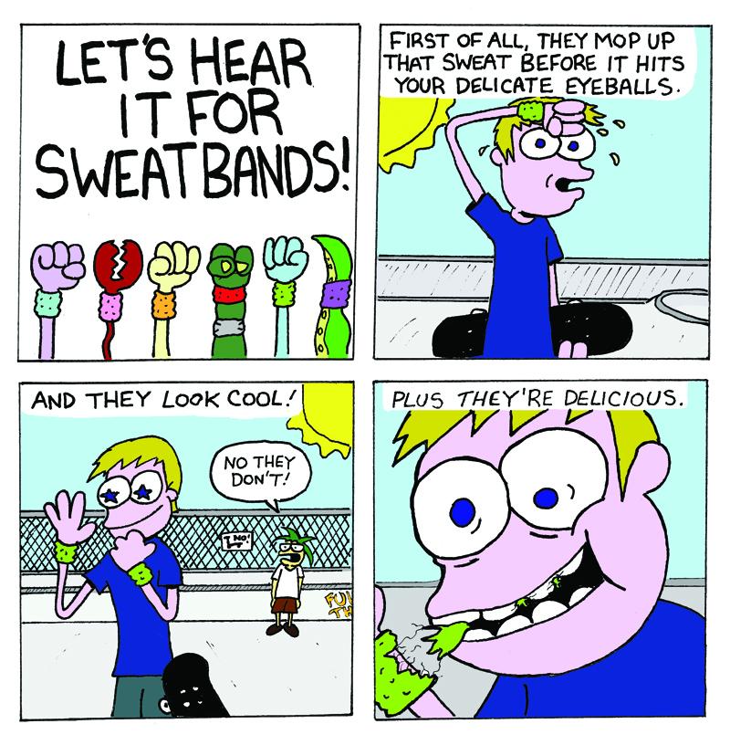 Sweat Full comic